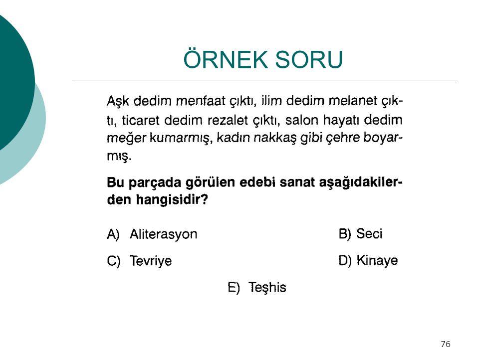 ÖRNEK SORU 76