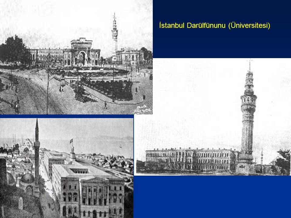 Darülfünun'un Kuruluş Amaçları *19.yüzyılda Avrupa ile ticari ilişkiler artmıştı.