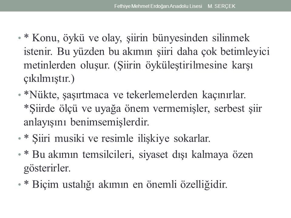 ÜLKÜ TAMER (1937-1958) İlk şiiri 1954 te Kaynak dergisinde yayınlandı.
