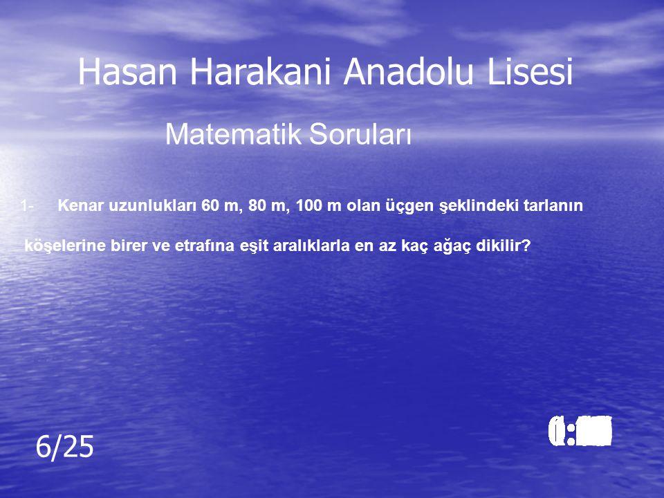 Cevap: Cevap: d) fond of İngilizce Soruları Hasan Harakani Anadolu Lisesi