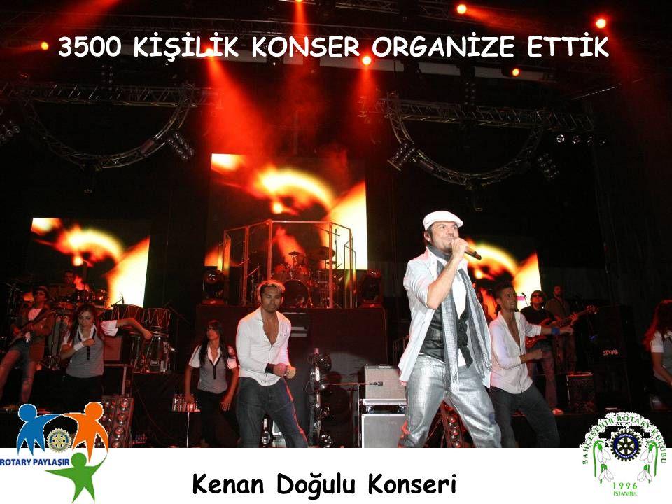 Kenan Doğulu Konseri 3500 KİŞİLİK KONSER ORGANİZE ETTİK