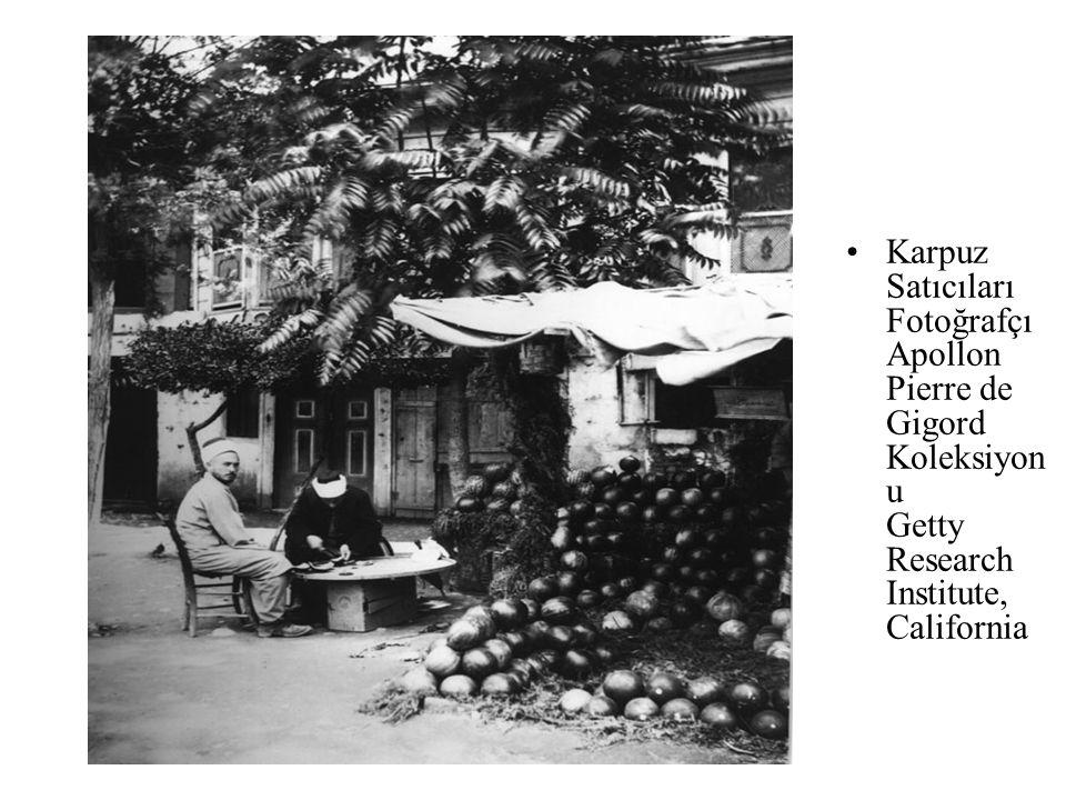 Sepet pazarı. Editör: Ludwing sohn Frères. Tahsin İspiroğlu Koleksiy onu