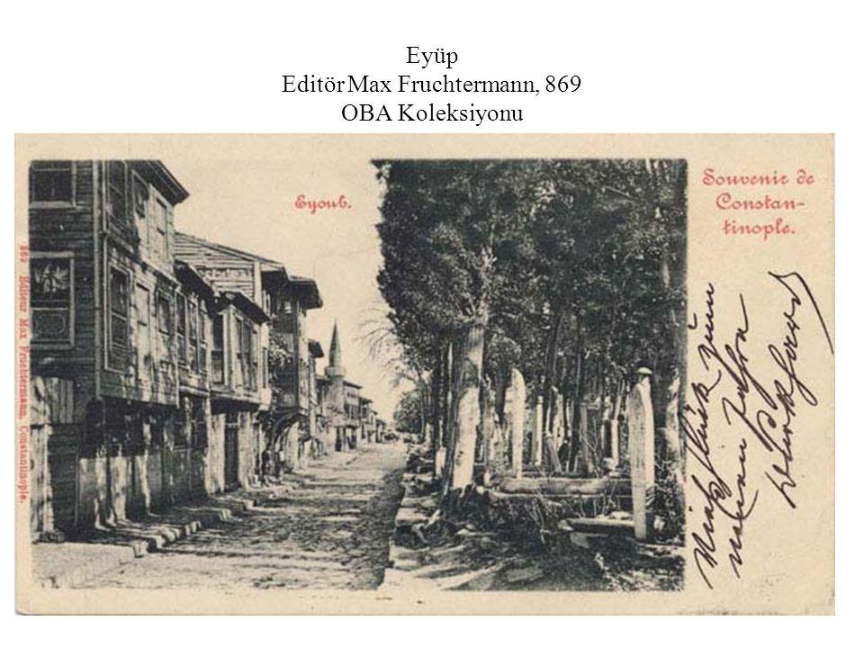 Sokaktan görünüm, 1914, Ayvansaray Editör Bon Marché OBA Koleksiyonu