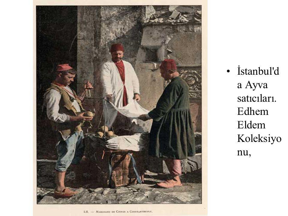 Leblebi satıcısı. Salut de Constantinopl e [9694]. Tahsin İspiroğlu Koleksiyonu,