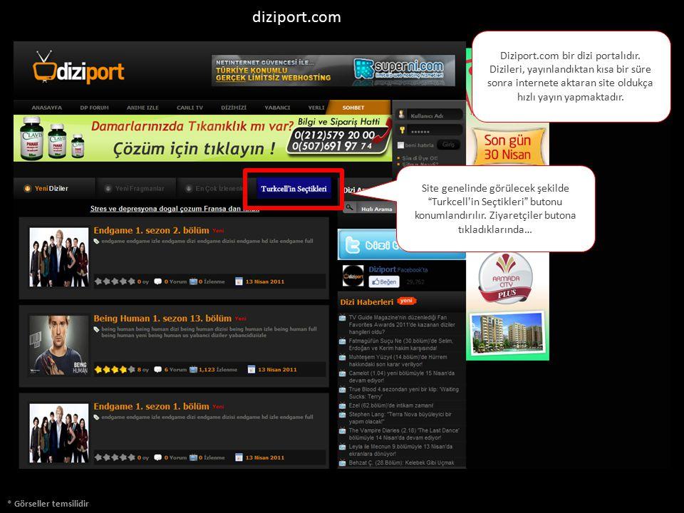 * Görseller temsilidir Diziport.com bir dizi portalıdır. Dizileri, yayınlandıktan kısa bir süre sonra internete aktaran site oldukça hızlı yayın yapma