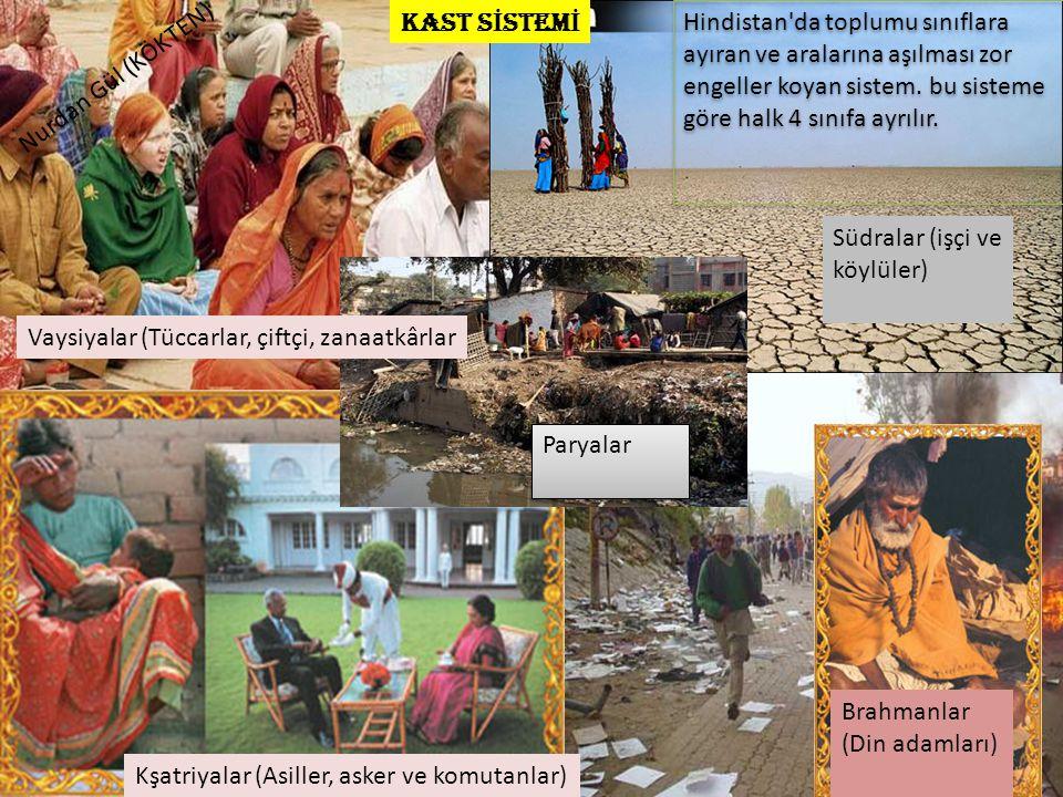 Hindistan'da toplumu sınıflara ayıran ve aralarına aşılması zor engeller koyan sistem. bu sisteme göre halk 4 sınıfa ayrılır. Brahmanlar (Din adamları