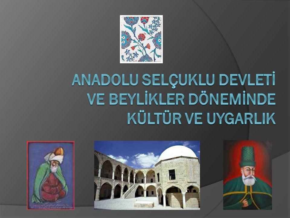 DEVLET YÖNETİMİ -SULTAN: *Anadolu Selçuklu Devleti'nin başında temel görevi ülkeyi yönetmek,halkın güven ve huzurunu sağlamak olan sultan bulunurdu.