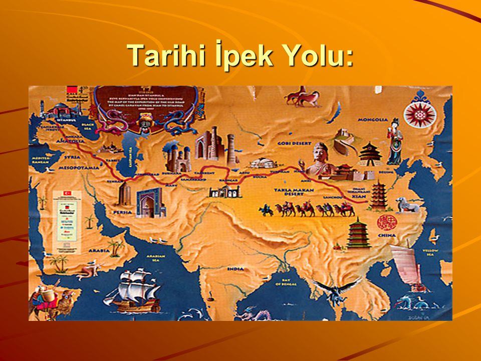 Tarihi İpek Yolu: