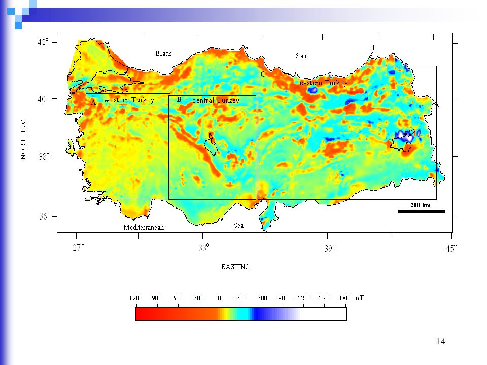 15 Türkiye'nin jeotermal enerji potansiyelinin araştırılması için benzer yolla batıdan doğuya yapılmıştır.