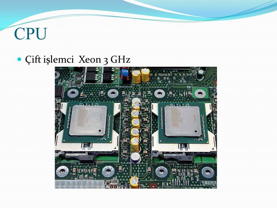 Çift işlemci Xeon 3 GHz