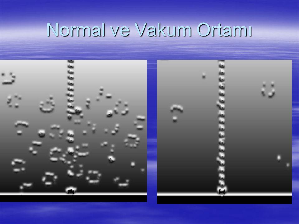 Normal ve Vakum Ortamı