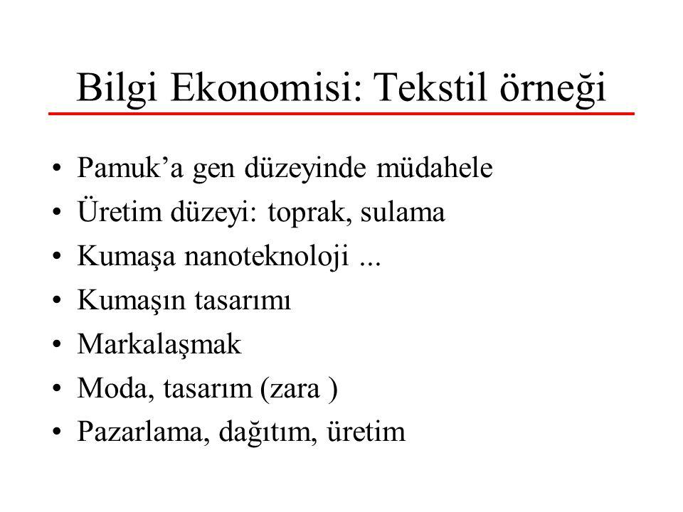 8 Nisan 2006 CUMOK İzmir İnternet, Bilişim ve Bilgi Toplumu 18 Bilgi Toplumuna Doğru İnternet --> Bilgi Toplumu Bilim, teknoloji, ar-ge, inovasyon Beyinsel emek, entellektüel sermaye Yaratıcı birey, üretici/tüketici birey Hiyararşı yıkılıyor, yatay/network örgüt Ekosistem, rekabirlik Katılımcı, saydam yönetim; her yerde STK