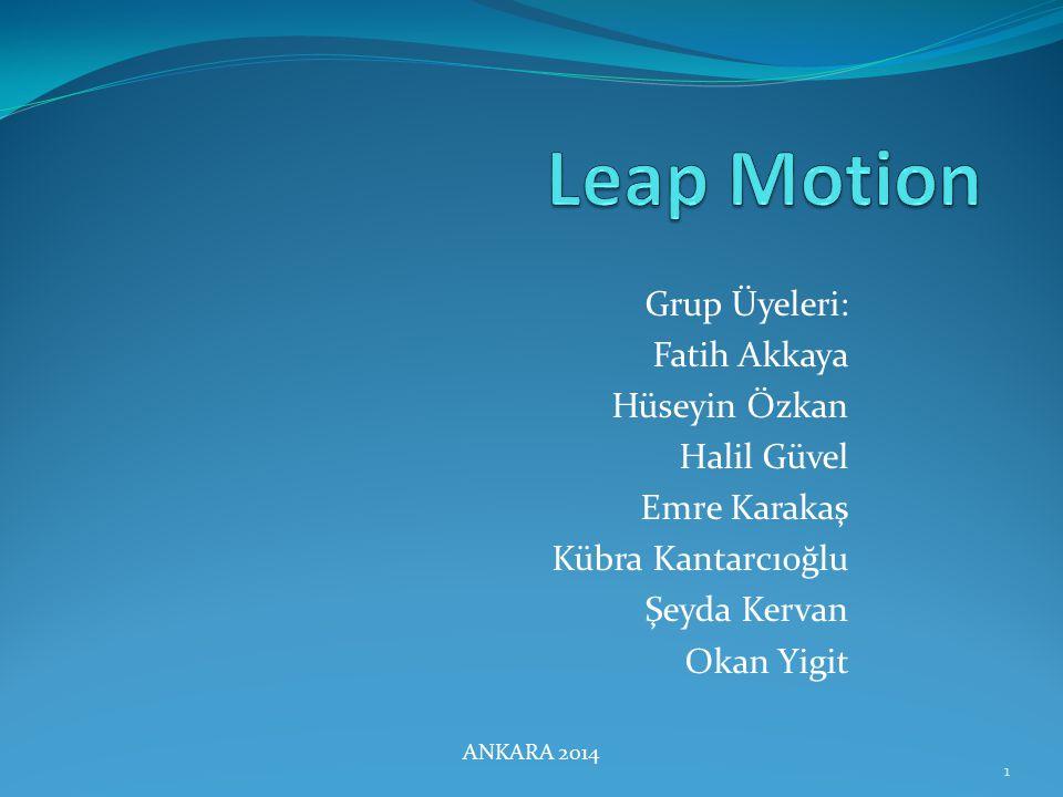 Leap MotionNedir.