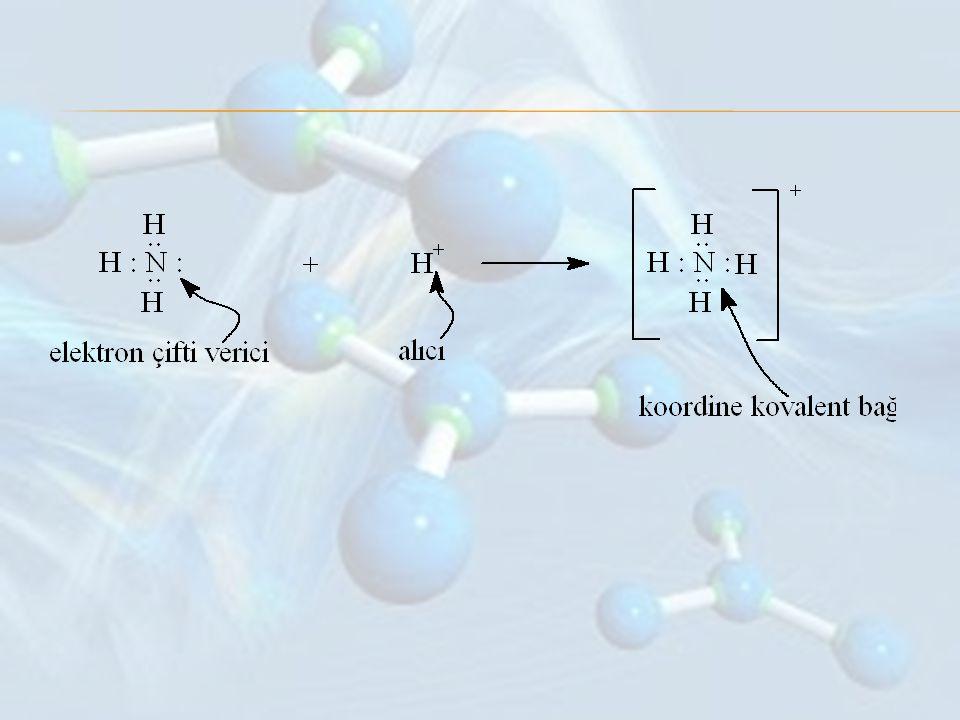 Şu ana kadar gördüğümüz ve birer elektronun ortaklaşa paylaşıldığı kovalent bağlarda atomlar birbirlerine tek bağ ile bağlanırlar.
