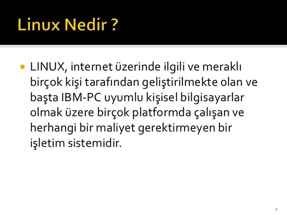 Ubuntu Temin Etmek Ubuntu daha önce de bahsetti ğ imiz gibi ücretsiz bir işletim sistemi.