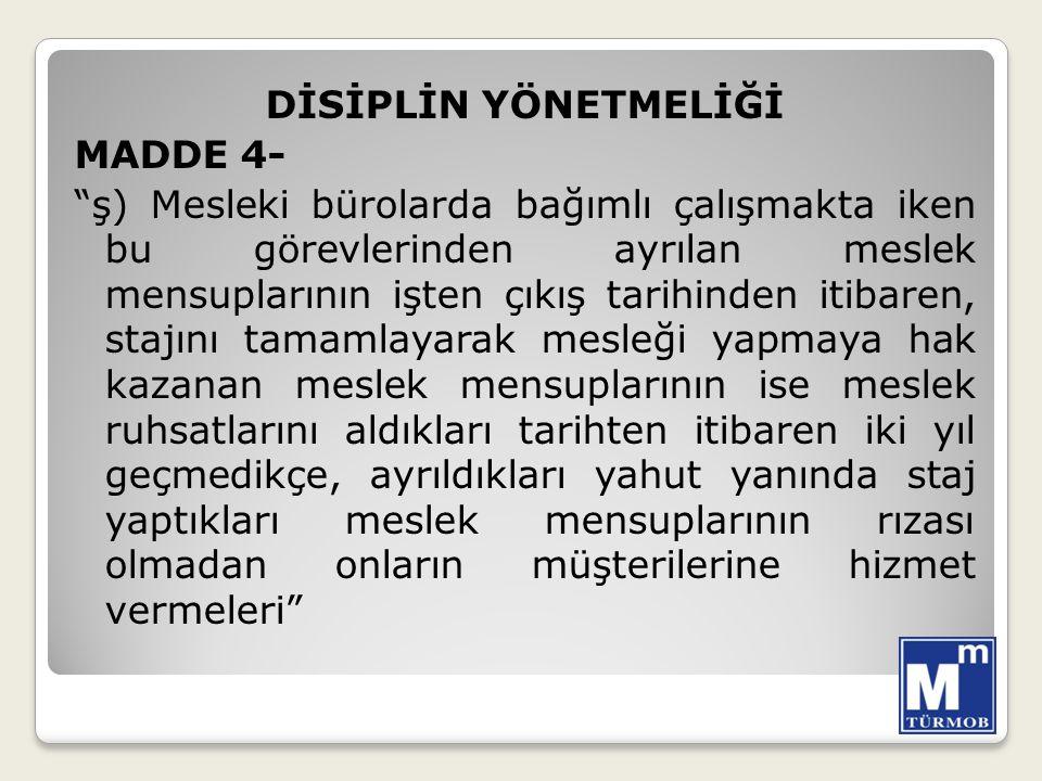 ODALAR YÖNETMELİĞİ Tabela asılması MADDE 39 – (1)Meslek mensuplarınca tabela asılması ihtiyaridir.