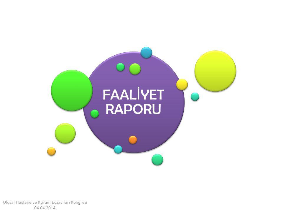 FAAL İ YET RAPORU Ulusal Hastane ve Kurum Eczacıları Kongresi 04.04.2014