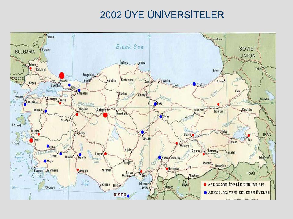 2001 YILI TOPLAM KONSORSİYUM İSTATİSTİKLERİ
