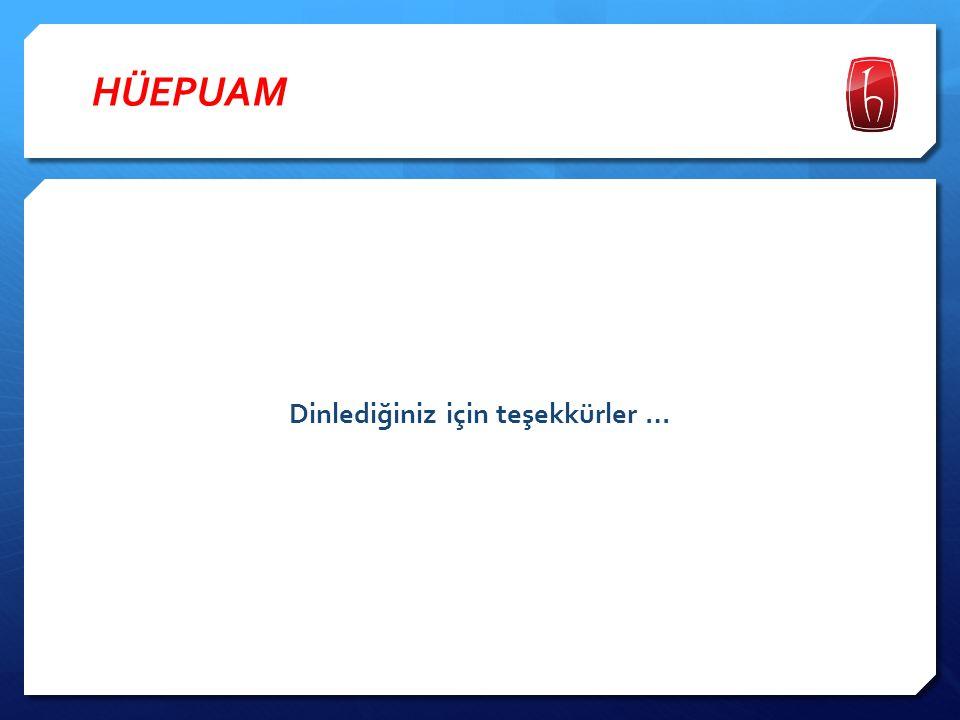 HÜEPUAM  Danışma Kurulu: Prof.Dr. Ahmet Burçin YERELİ, Hacettepe Üniversitesi Doç Dr.