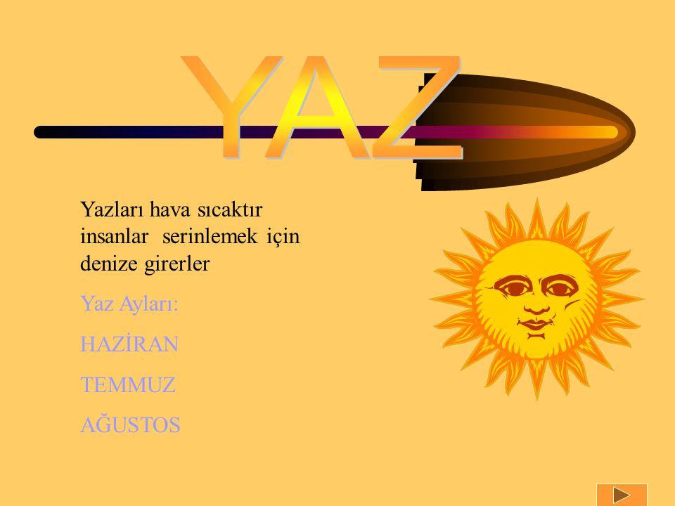 Sonbahar mevsiminin ilk ayıdır sıcaklık azalır.Okullar bu ayda açılır.