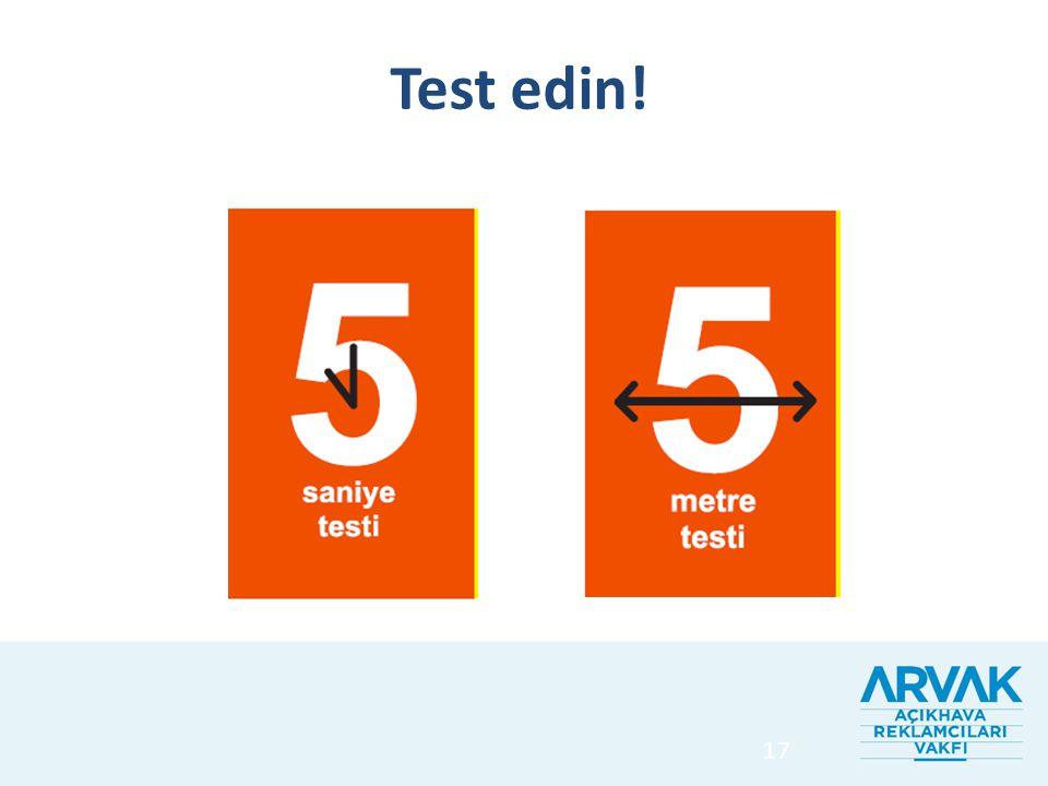 17 Test edin!