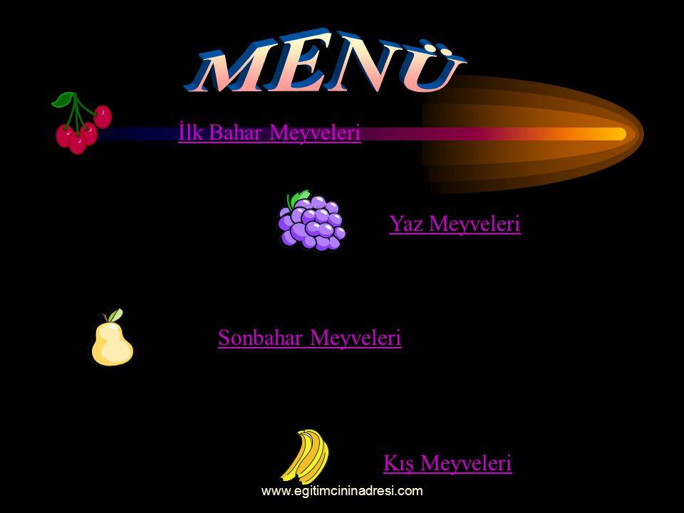 AMAÇ:Meyveleri tanıtma.HEDEF:Meyveleri ve özelliklerini öğrenme.