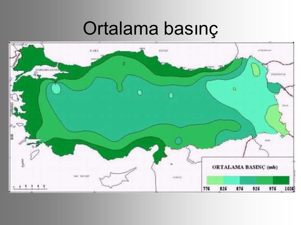 İklim tiplerinin dağılışı