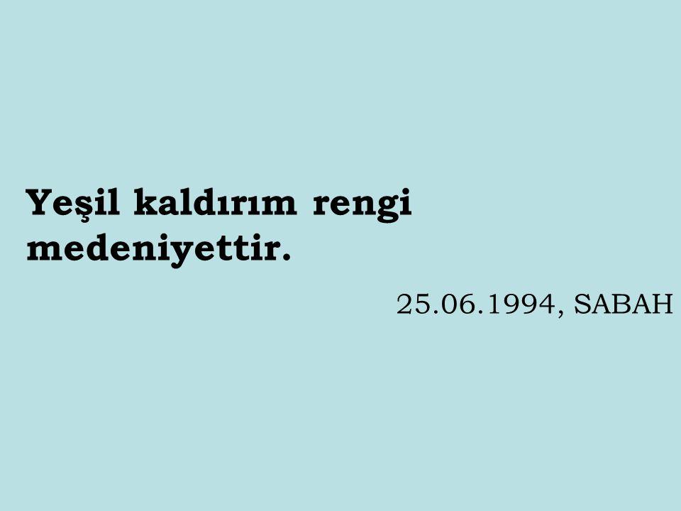 Taksim'deki caminin temelini inşallah atacağız. 01.07.1994, HÜRRİYET