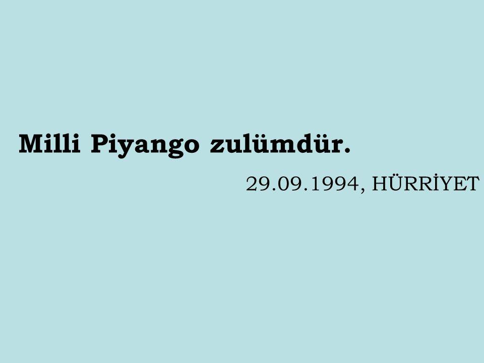 İstanbul'u Medine yapacağız. 12.02.1997, SABAH