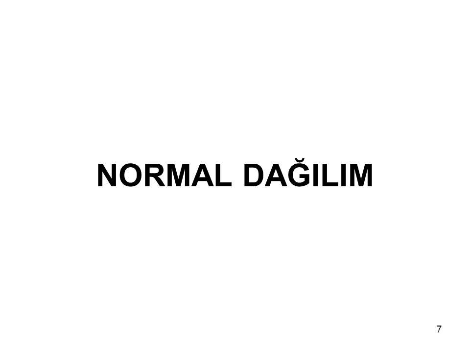 18 Standart Normal Dağılım Tablosunu Kullanarak Olasılık Hesaplama