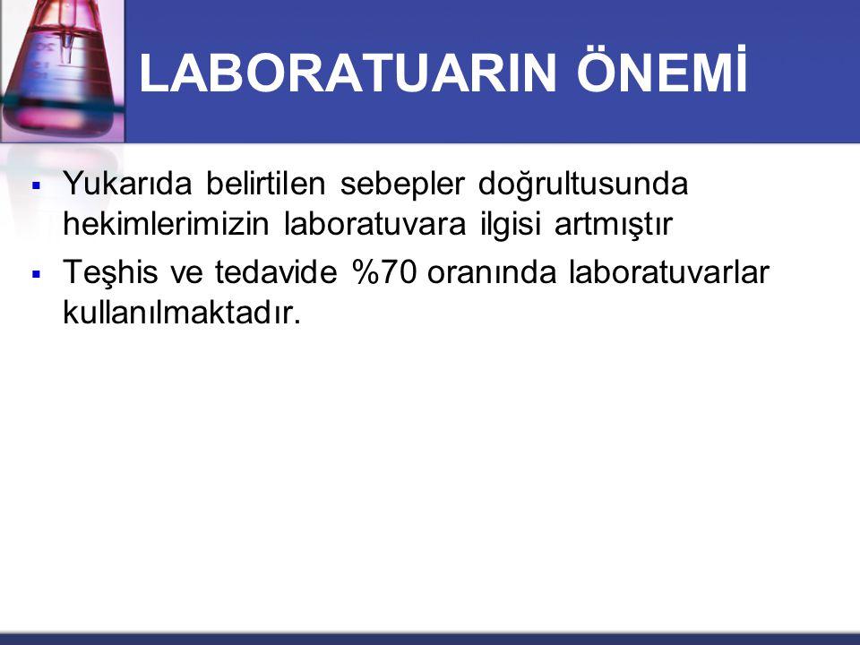 LABORATUVAR TEKNİKER VE TEKNİSYENLERİNİN SORUNLARI II.