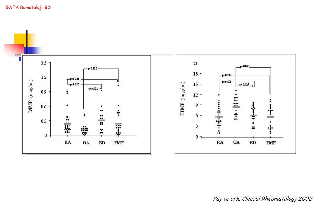 GATA Romatoloji BD Pay ve ark. Clinical Rheumatology 2002