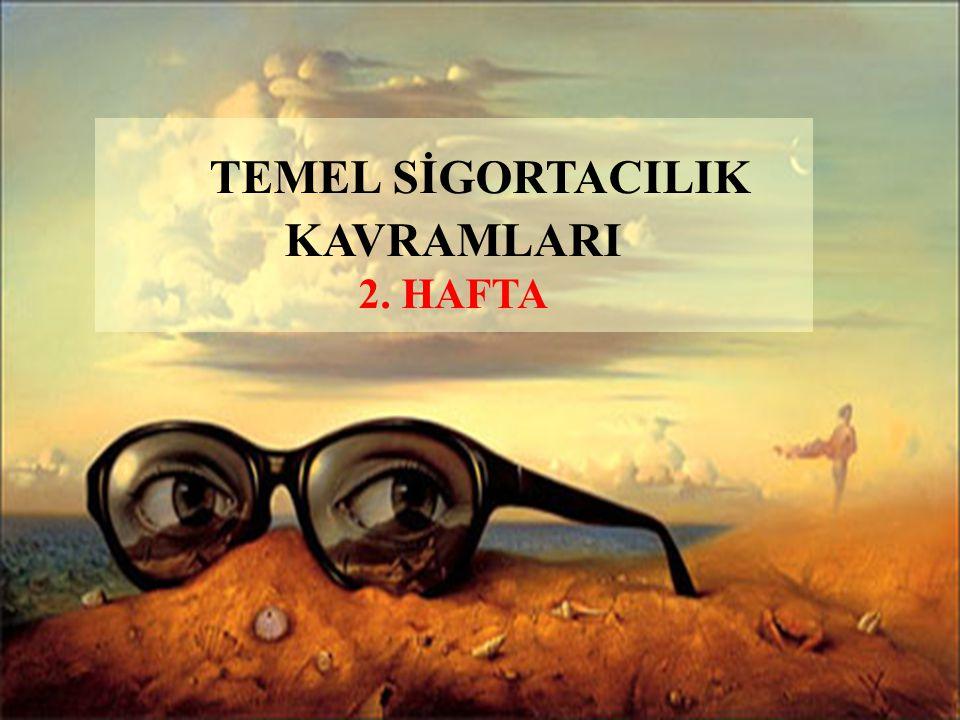 SİGORTALANABİLİRLİK ÖZELLİKLERİ 1.