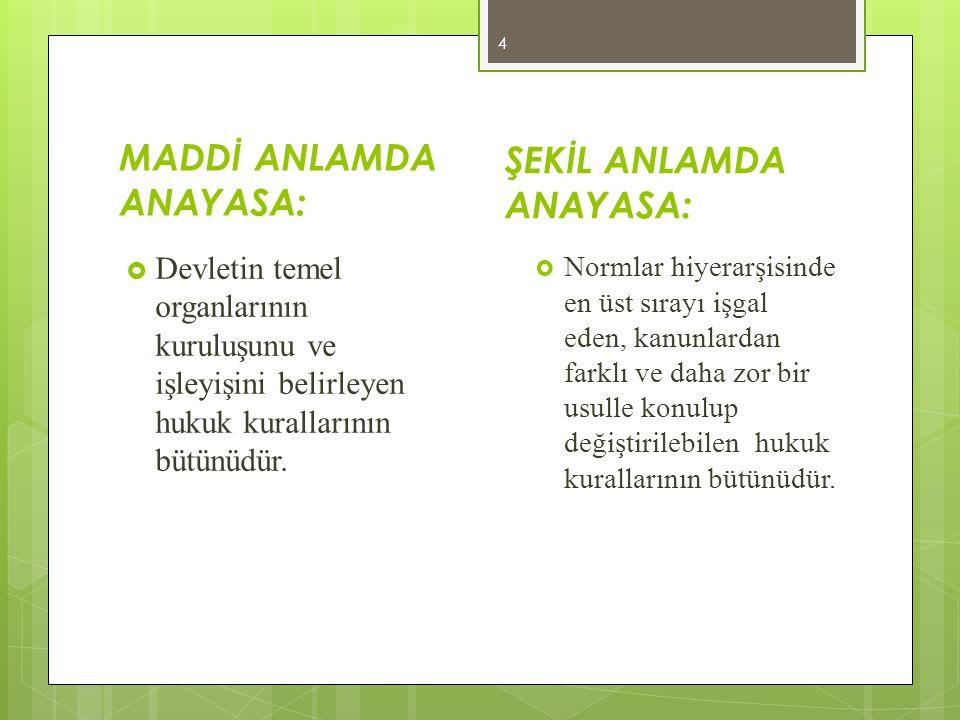 CUMHURİYETİN NİTELİKLERİ  Türkiye Cumhuriyeti, toplumun huzuru, milli dayanışma ve adalet anlayışı içinde içinde, insan haklarına saygılı, Atatürk Milliyetçiliğine bağlı, başlangıçta verilen ilkelere dayanan demokratik, laik ve sosyal bir hukuk devletidir.