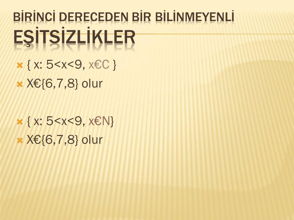  { X: 10≤x≤15, x€N}  X€{10,11,12,13,14,15}  {x: 7<x≤10, x€C}  X€{8,9,10}