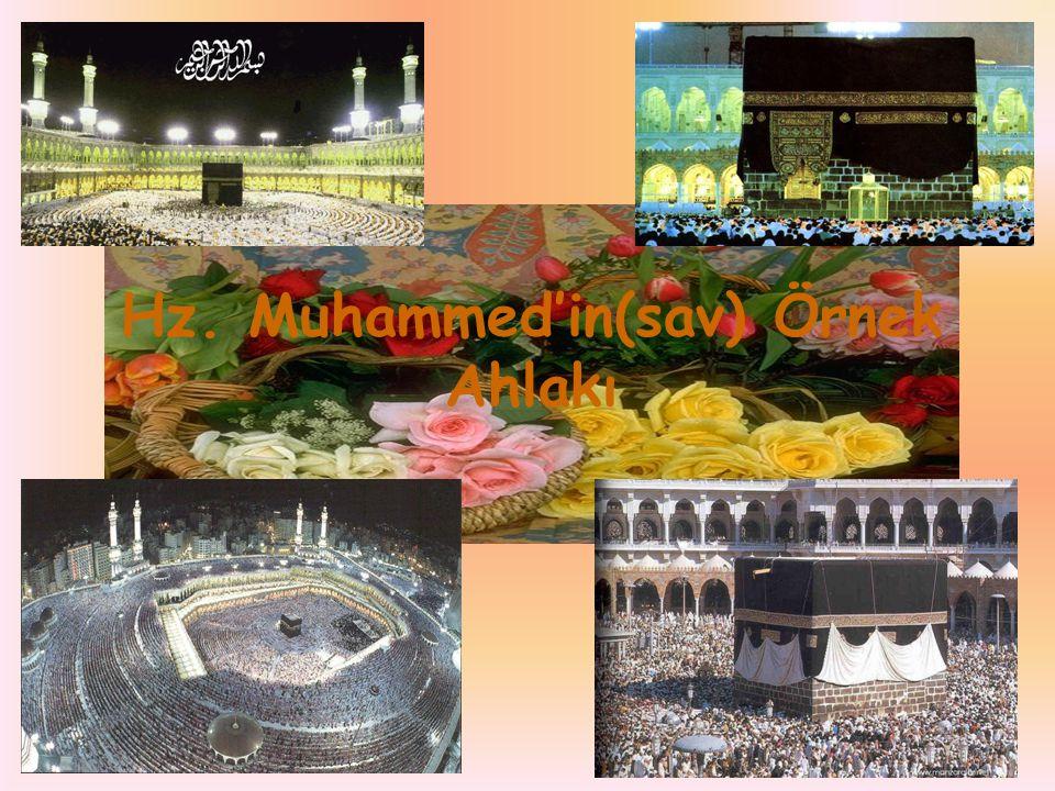 Hz. Muhammed'in(sav) Örnek Ahlakı