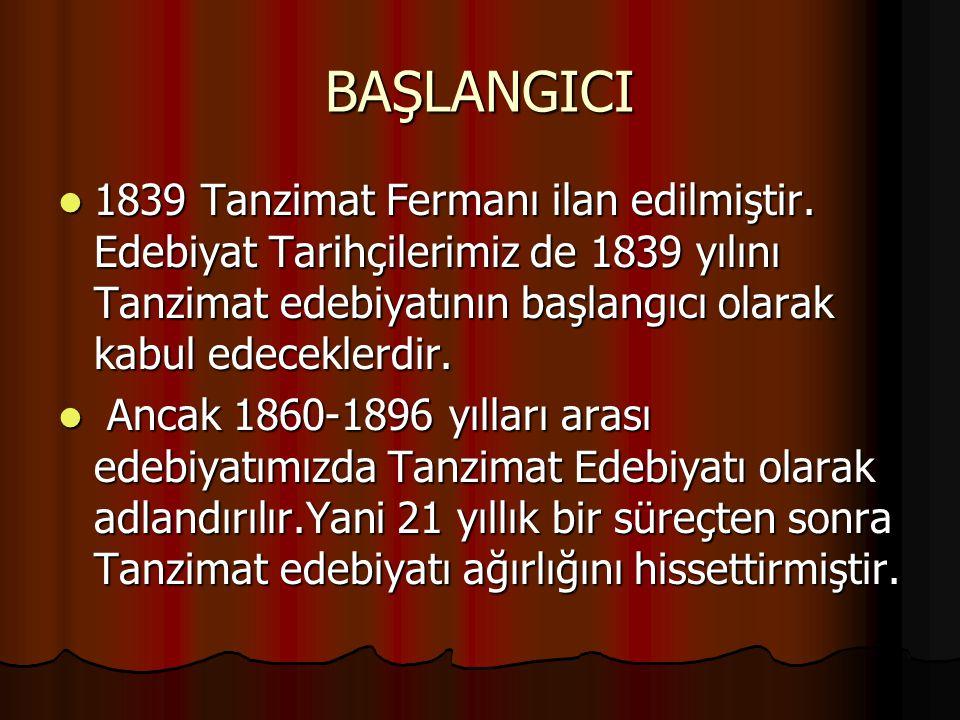 Eleştiri: Eleştiri: edebiyatımızdaki ilk örneği Namık Kemal'in Tahrib-i Harabat adlı yapıtıdır.