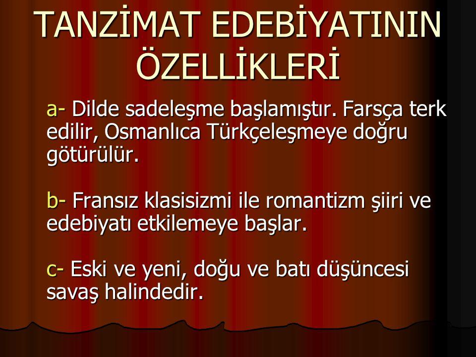 2. Realizm etkisi altındakiler - Sami Paşazade Sezai -Mehmet Murat - Recaizade Mehmet Ekrem