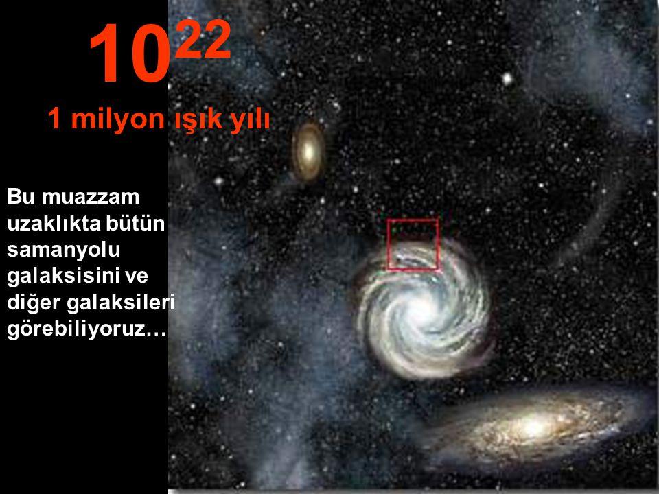 Samanyolu galaksisinin sınırlarına ulaşmaya başlıyoruz 10 21 100,000 ışık yılı