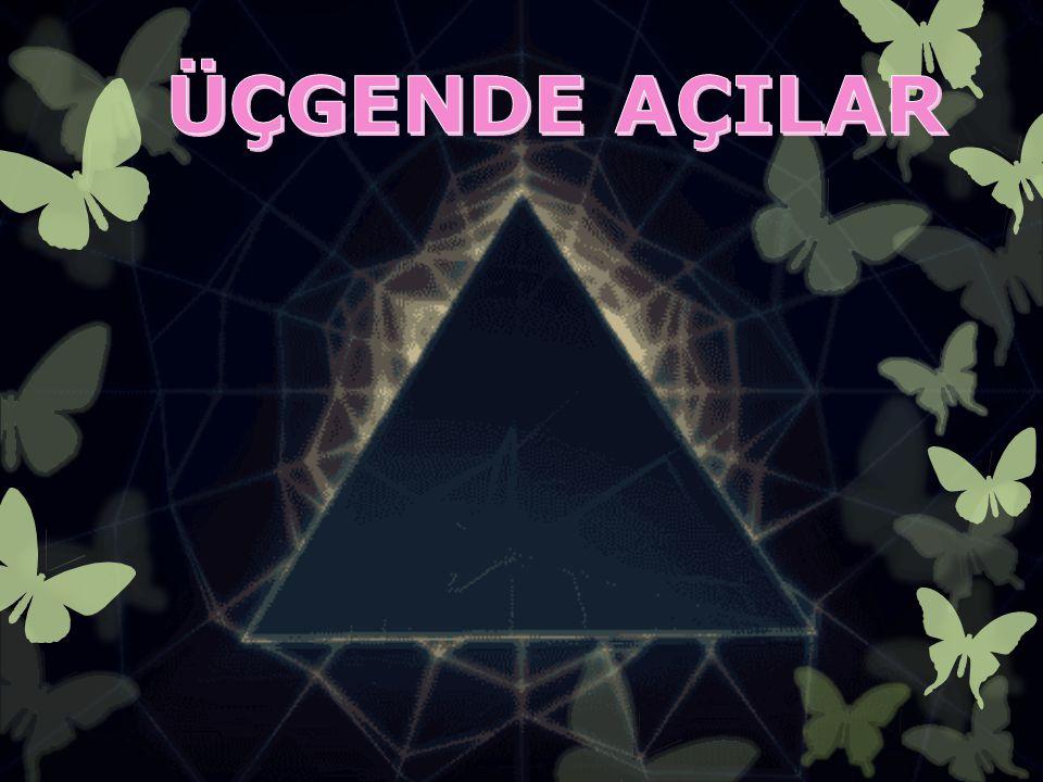 ÜÇGENDE AÇILAR 1.