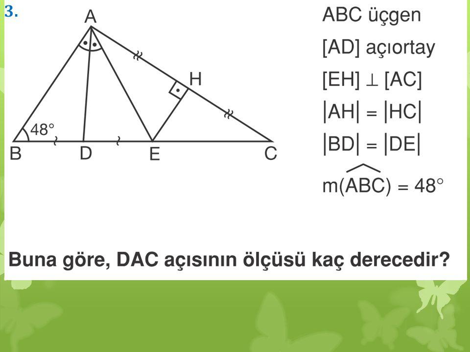 Bir üçgende iki kenarın orta noktalarını birleştiren doğruya orta taban denir.