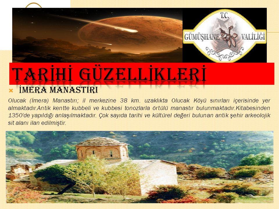  SANTA HARABELER İ Santa Harabeleri 17. yy'dan beri dini, ticari ve kültürel önem taşıyan bir yerleşim yeridir. Santa Harabeleri bugünkü Dumanlı köyü