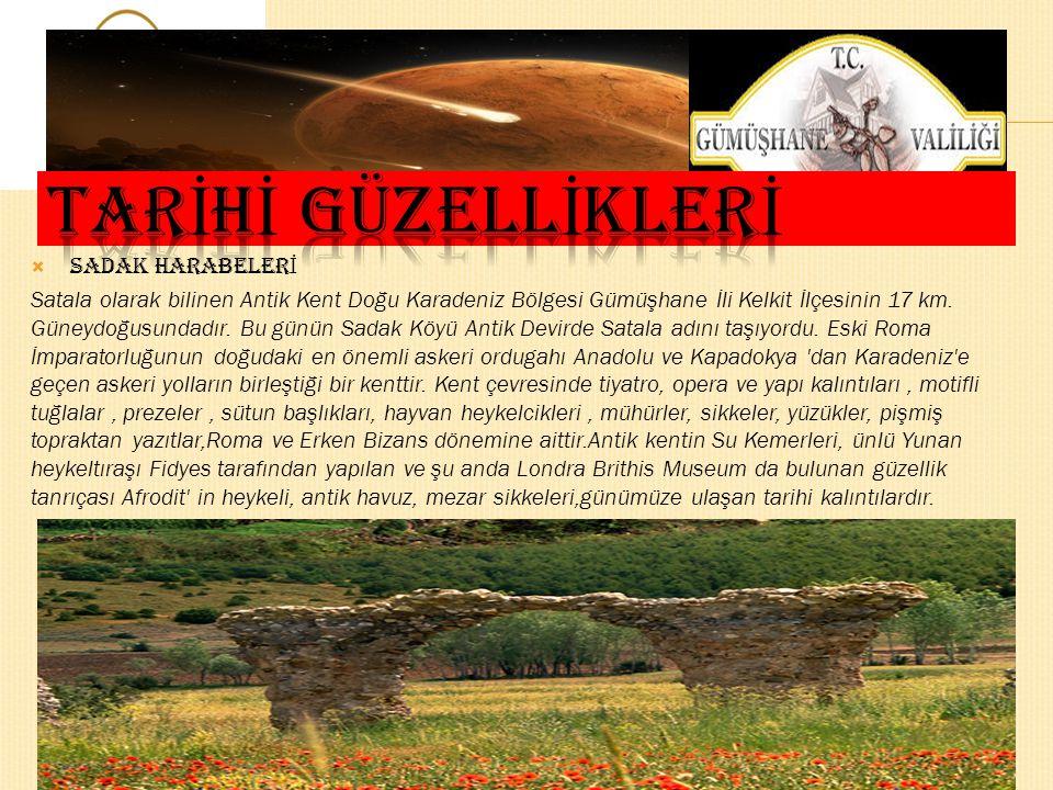  İ MERA MANASTIRI Olucak (İmera) Manastırı; il merkezine 38 km. uzaklıkta Olucak Köyü sınırları içerisinde yer almaktadır.Antik kentte kubbeli ve kub