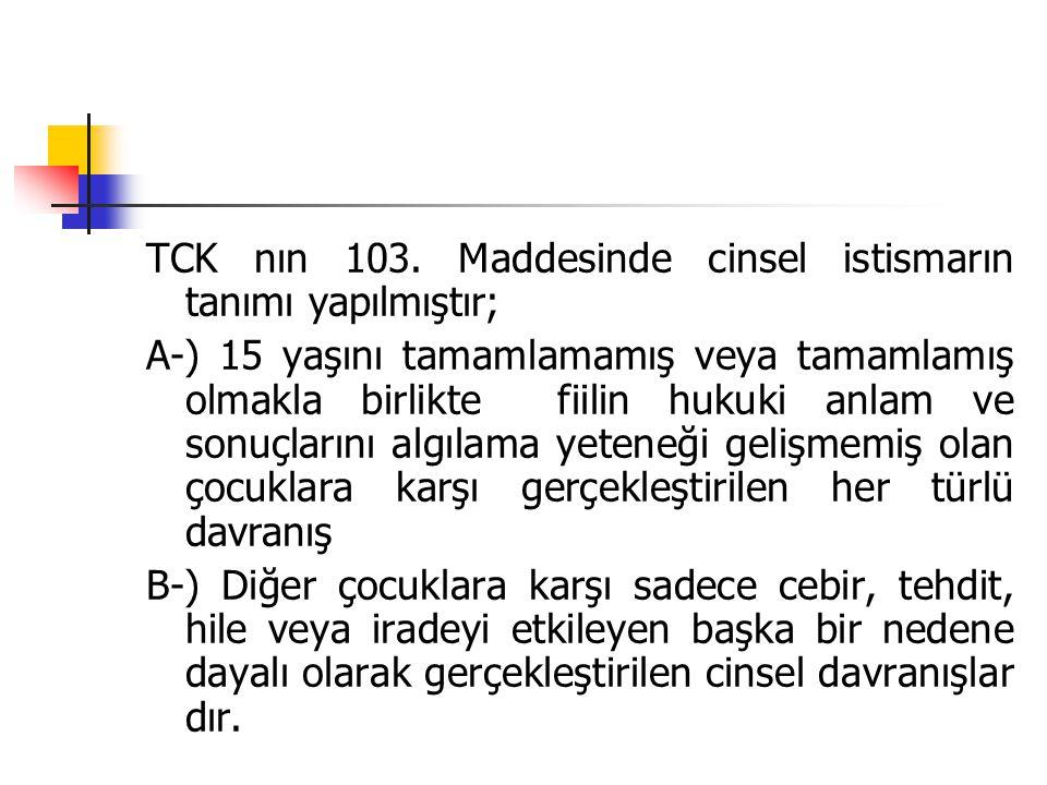 TCK nın 103.