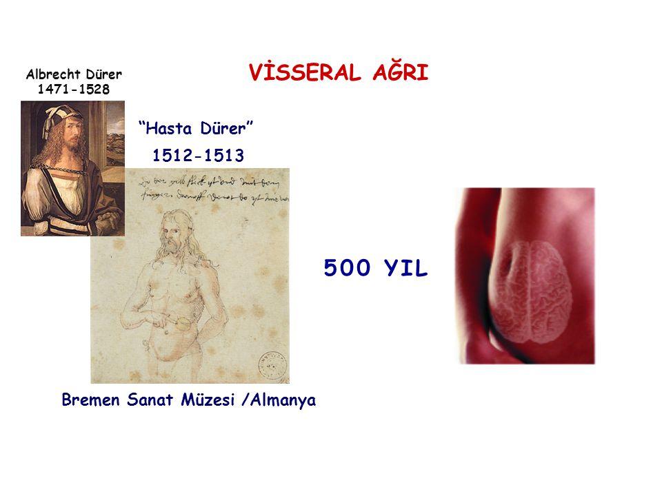 """1512-1513 Albrecht Dürer 1471-1528 """"Hasta Dürer"""" Bremen Sanat Müzesi /Almanya VİSSERAL AĞRI 500 YIL"""