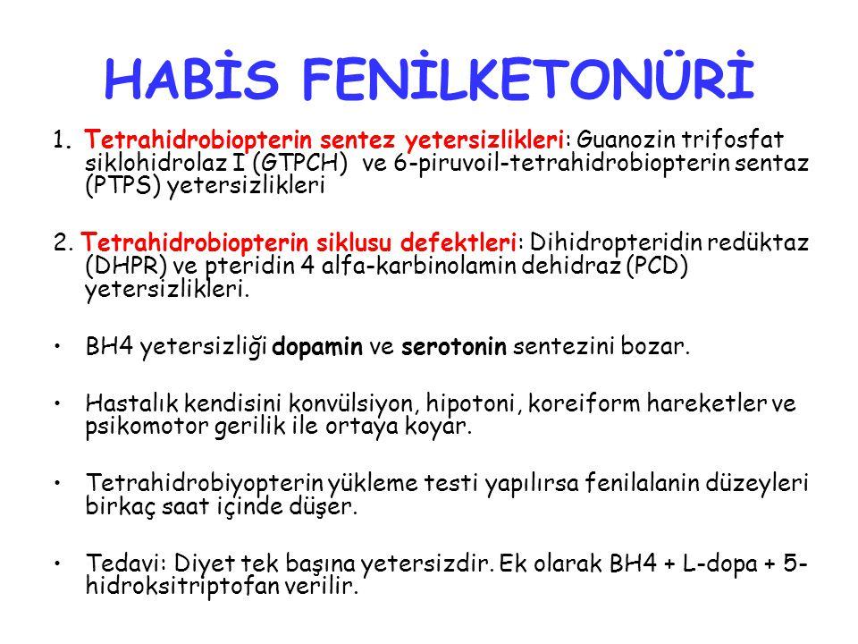 HABİS FENİLKETONÜRİ 1.