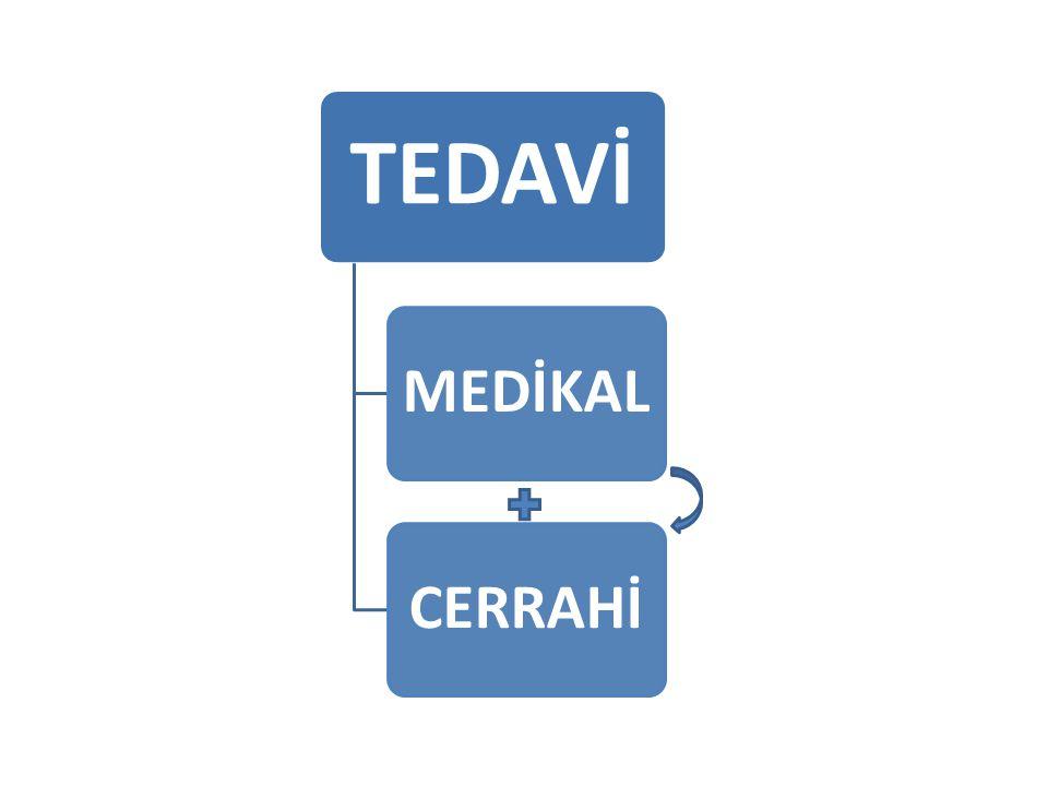 TEDAVİ MEDİKALCERRAHİ