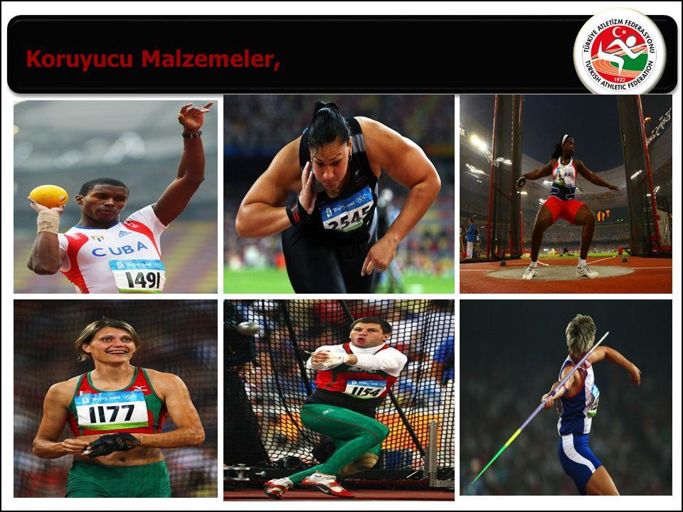 8 Yarışta sekizden fazla atlet varsa; Her atlete üç hak verilir, Geçerli en iyi performansı elde eden sekiz atlete üç hak daha verilir.