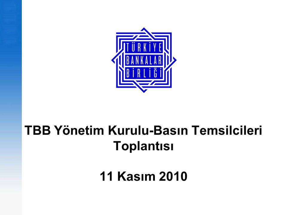 TBB-Basın Toplantısı 11 Kasım 2010 GOÜ'ler-TR, en temel fark; tasarruf dengesi 12