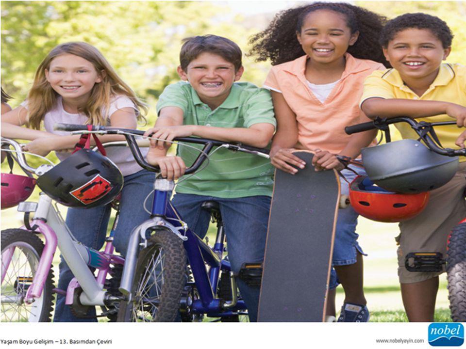 d) Egzersiz İlkokul çağı çocuğu fiziksel yönden henüz olgunlaşmamış ve bu nedenle aktif olma İhtiyacındadır.